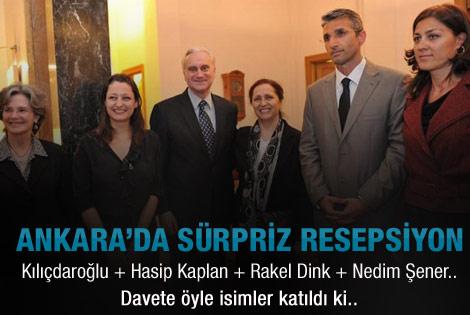 ABD Büyükelçisinden Pavey için resepsiyon