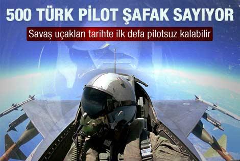 TSK'da 500 pilot şafak sayıyor