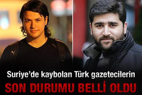 İHH: Türk gazeteciler hayatta ve sağlıklı