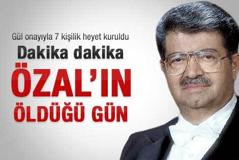 DDK Özal'ın ölümünü araştırıyor