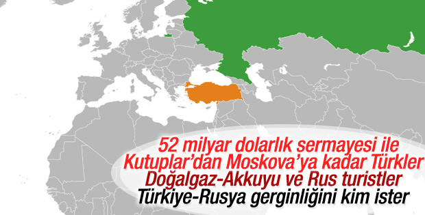 Türkiye ile Rusya arasındaki gerilimin ekonomik boyutu