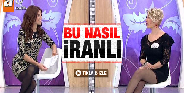 Esra Erol'da İranlı gelin adayı - Video