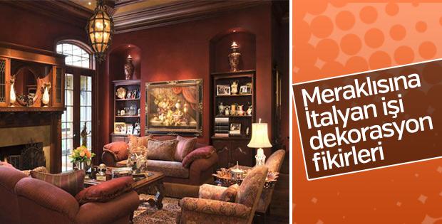 Oturma odalarında İtalyan modası