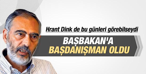 Etyen Mahçupyan Davutoğlu'nun danışmanı oldu