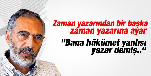 Mahçupyan'dan Ahmet Turan Alkan'a cevap
