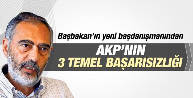 Etyen Mahçupyan: AKP'nin üç temel başarısızlığı oldu
