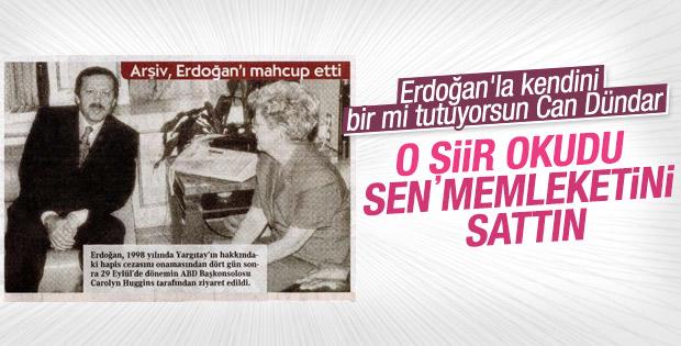 Can Dündar kendisini Erdoğan'a benzetti
