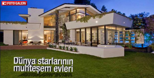 Dünya starlarının muhteşem evleri