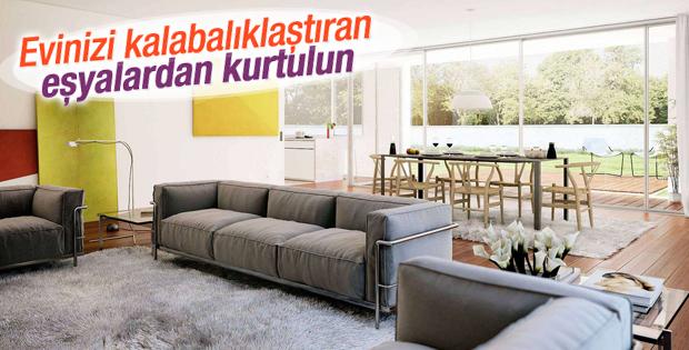 Evinizi karmaşıklıktan kurtarın
