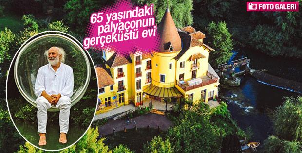 65 yaşındaki palyaçonun gerçeküstü evi