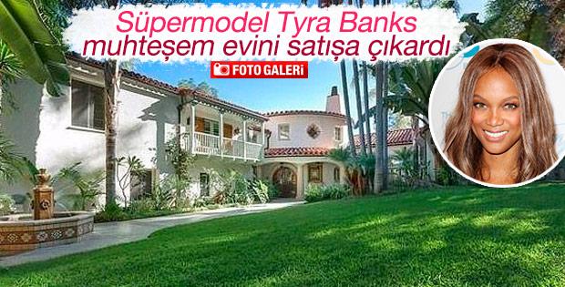 Ünlü model evini satışa çıkardı