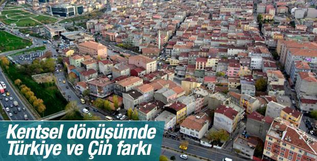 Kentsel dönüşümde Türkiye ve Çin farkı