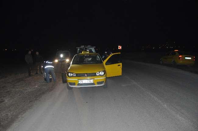 Eskişehir'de bir taksici gasp edildi