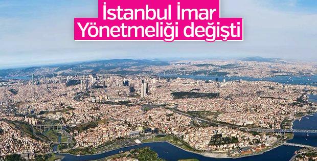 İstanbul'da İmar Yönetmeliği değişikliği