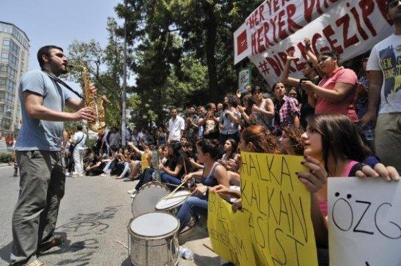 Mersin'de Gezi davasında 51 kişi beraat etti