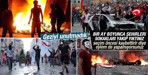 Gezi olaylarının 2. yılında kimse sokağa çıkmıyor