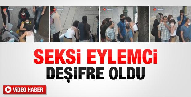 Ankara'daki Gezi eylemcisi deşifre oldu - izle