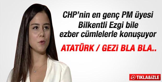 CHP'nin en genç PM üyesi Ezgi Akar konuştu
