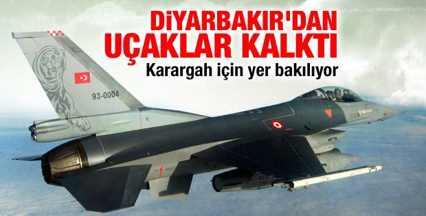 Türkiye Musul'da keşif uçuşlarına başladı