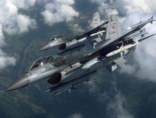 4 adet F-16 Suriye sınırına gönderildi