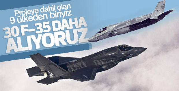 Savunma Bakanı: 30 adet F-35 alınacak