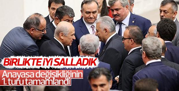 Anayasa Teklifi'nin son maddesi de kabul edildi