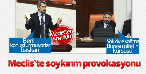 HDP'li Paylan'dan TBMM'de 'soykırım' provokasyonu