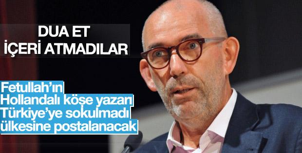 Joost Lagendijk'e Türkiye'ye giriş izni verilmedi
