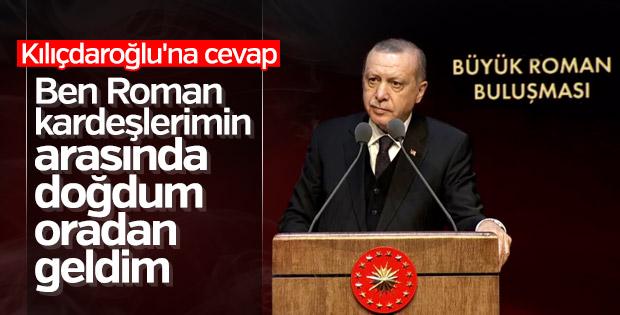 Erdoğan'dan Kılıçdaroğlu'na Roman yanıtı
