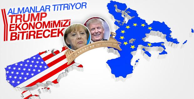 Alman iş dünyasında Trump endişesi