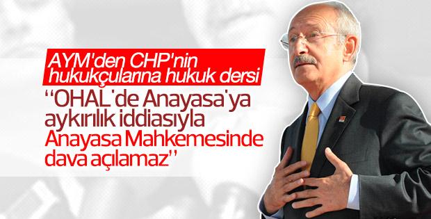 CHP'nin KHK talebi neden reddedildi