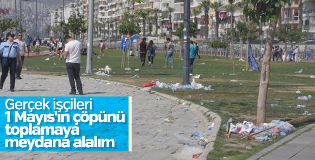 İzmir'de 1 Mayıs kutlamaları sona erdi
