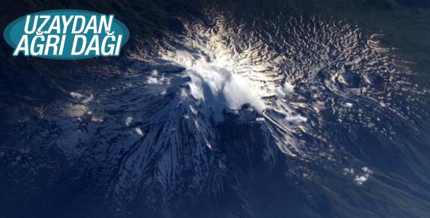 Ağrı Dağı uzaydan görüntülendi