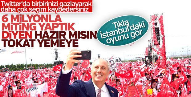 Genel seçimin İstanbul sonuçları