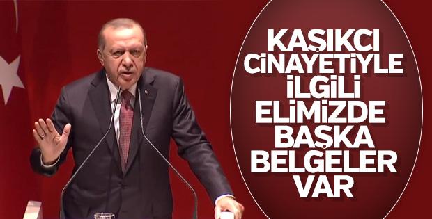Başkan Erdoğan: Kaşıkçı cinayetiyle ilgili elimizde belge var