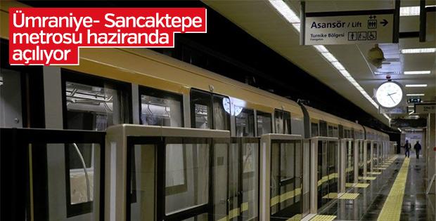 Ümraniye- Sancaktepe metrosu çalışmaları devam ediyor