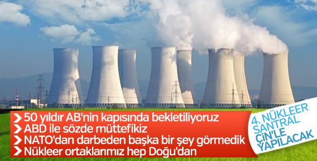 Erdoğan: 4'üncü nükleer santrale Çin'le başlayabiliriz