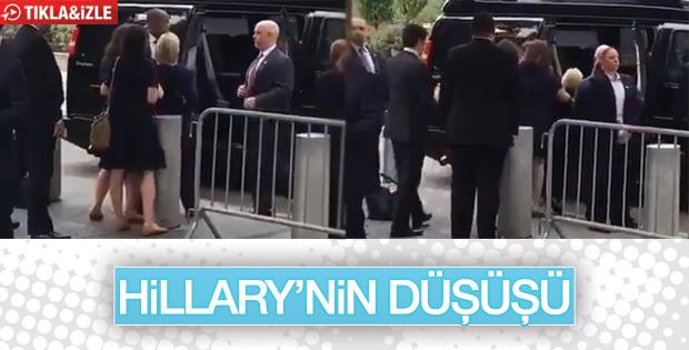 Hillary Clinton rahatsızlandı