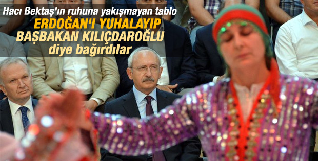 Hacı Bektaş'ta Erdoğan yuhalandı Kılıçdaroğlu alkışlandı