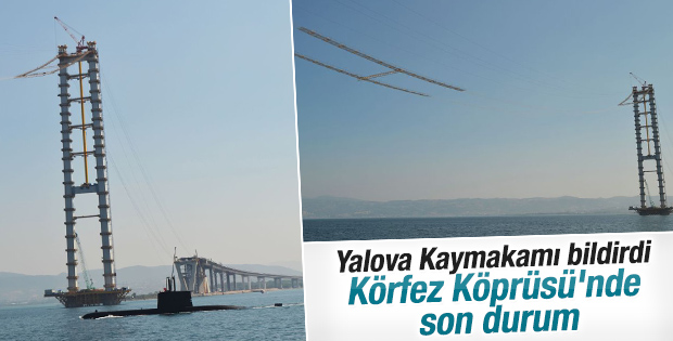 İzmit Körfez Geçiş Köprüsü mart ayında açılacak