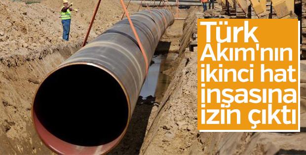 Türk Akımı'nın ikinci hat inşasına izin çıktı