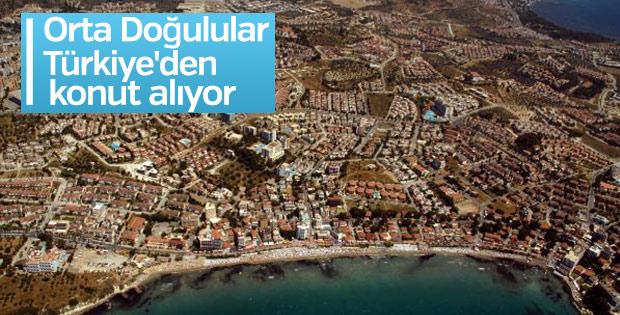 Orta Doğulular Türkiye'den konut alıyor