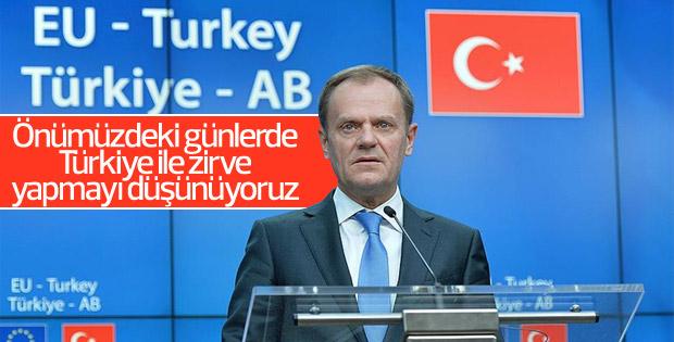 Tusk: Türkiye ile zirve yapmayı düşünüyoruz