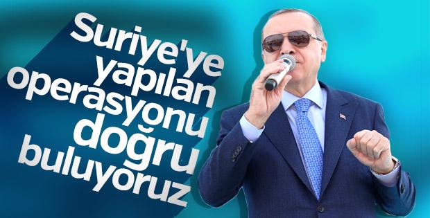 Erdoğan: Masumların hesabı daha önce sorulmalıydı