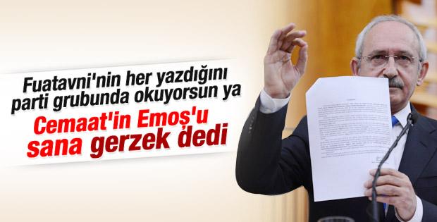 Kılıçdaroğlu güvendiği cemaatten hakaret yedi