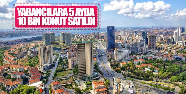 Yabancı yatırımcı Türkiye'de konuta yöneldi