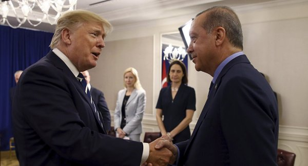 Trump gave a compliment to President Erdoğan
