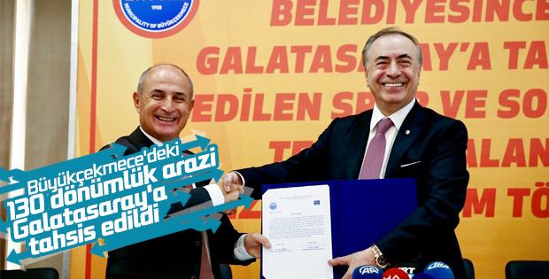 Büyükçekmece'deki 130 dönümlük arazi artık Galatasaray'ın
