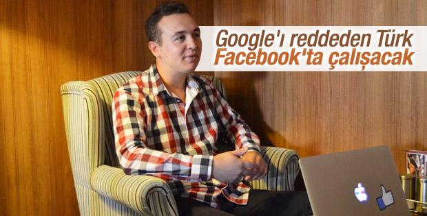 Google'ı reddeden Türk tasarımcı Facebook'ta çalışacak