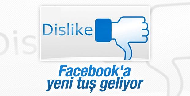 Facebook'a beğenmeme tuşu geliyor